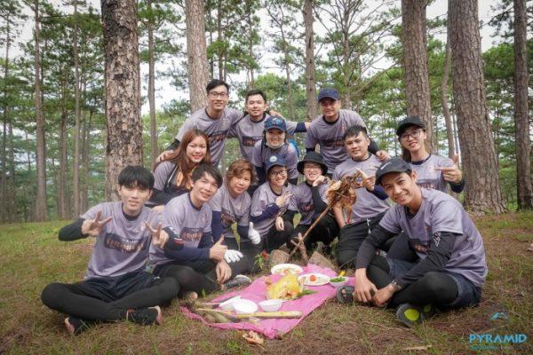 Pyramid-Teambuilding