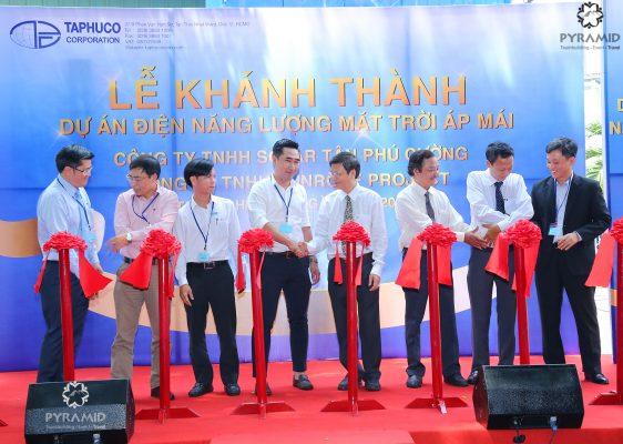 Lễ khánh thành dự án Điện áp mái Tân Phú Cường